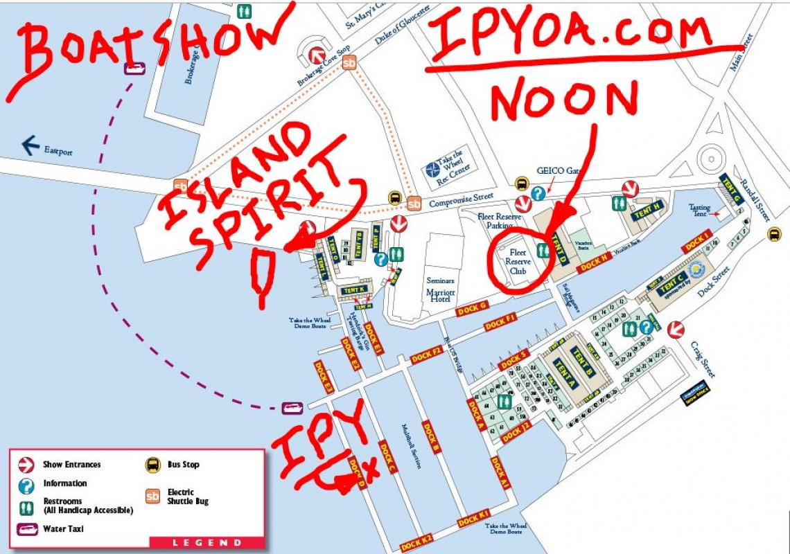 IPYOA NOON Lunches at Boatshow