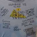 March 4, 2012, Our Island Packet Shirt signed and mounted to the wall.