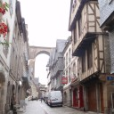 One of the streets in Morlaix