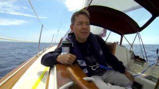 Sailing Lake Michigan : Ep 3 Full Rig, Tacking, and Single Handing Docking