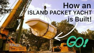 How an Island Packet and Seaward Yacht Sailboat is Built