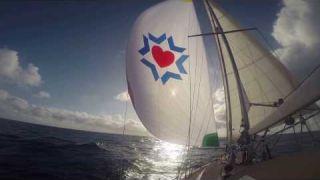 Sailing the Atlantic for Shaare Zedek